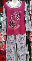 Пижама женская для сна байкова №601