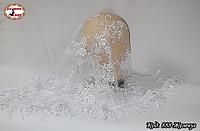 Свадебный платок с жемчугом Люси