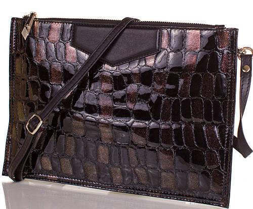 Стильный  женский кожаный клатч  ETERNO,  ET87209-2