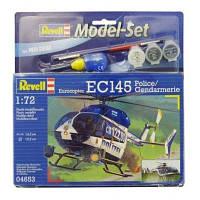 Сборная модель Revell Вертолет EC145 Polizei/Gendarmarie 1:72 (64653)