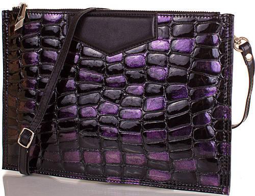 Яркий  женский кожаный клатч  ETERNO,  ET87209-7