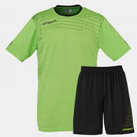 Футбольная форма Uhlsport green flash/black