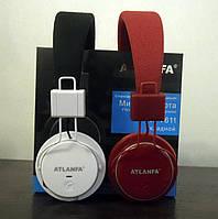 Беспроводные наушники ATLANFA AT-7611 с Bluetooth, MP3 плеером и FM радио!