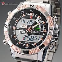 Мужские часы SHARK Sport Steel Quartz Digital