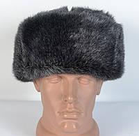 Зимняя мужская военная шапка из искусственного меха Норки
