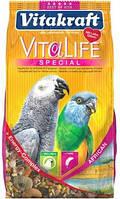 Корм Vitakraft VitaLife Special для жако, 650 г