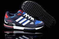 Кроссовки мужские Adidas ZX 750 (адидас, оригинал) синие