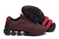 Кроссовки мужские Adidas Porsche Design VI (адидас порше, оригинал) черно-красные