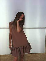 "Платье коричневое ""Милли"""