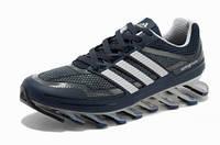 Кроссовки мужские Adidas Springblade (адидас, оригинал) сине-серые