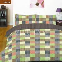 12123 Евро постельное белье ранфорс Platinum Viluta