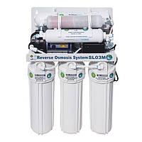 Система обратного осмоса BIO+systems RO-50-SL03M-NEW (мембрана Filmtec пр-во США) насос+минерализ-р