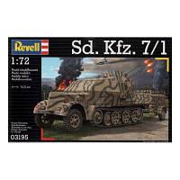 Сборная модель Revell Зенитная самоходная установка Sd.Kfz. 7/1 1:72 (3195)