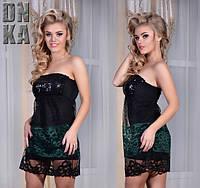 Платье клубное Мини