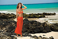 Пляжное платье оранжевое SUKIENKA F43 227