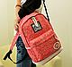 Стильный городской рюкзак JQ 16 л. фуксия / разноцветный URBANSTYLE, 041, фото 2