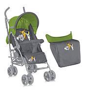 Коляска детская Bertoni Fiesta Green Grey Safari