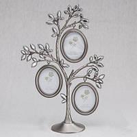 """Фоторамка """"Семейное дерево"""" на 3 фото"""