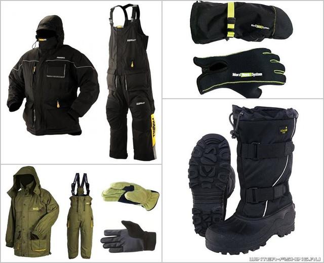 одежда и снаряжение для рыбалки