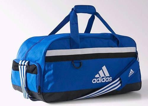 Большая вместительная сумка, спортивно-дорожная 81 л. Adidas TIRO TB M S30253 синий