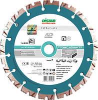 Алмазный отрезной диск по бетону Distar 1A1RSS/C3 232x2,6/1,8x12x22,23-16-HIT Technic Advanced