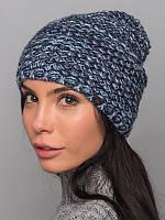 Зимняя шапка из многоцветной пряжи. Шапка женская. Шапка теплая.Шапка шерстяная. Шапка светлая.Шапка стильная.