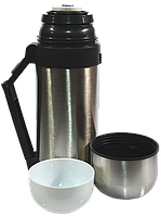 Термос комбинированный для пищи, для горячих и холодных напитков HGS 0.6л