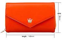 Чехол-сумочка для телефона оранжевая