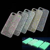 Ультратонкие светящиеся в темноте чехлы для IPHONE5/5s Материал: пластик 0,3 мм