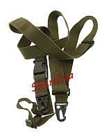 Ремень оружейный трехточечный Olive ST-3