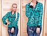 Рубашка лео (02) бирюза 5014