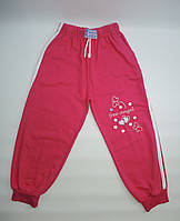 Трикотажные штаны для девочки 5-8 лет