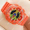 Яркие спортивные наручные часы Casio GA-110 Оrange 629