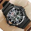 Элегантные наручные спортивные часы Casio GA-200 Black/Gray 646