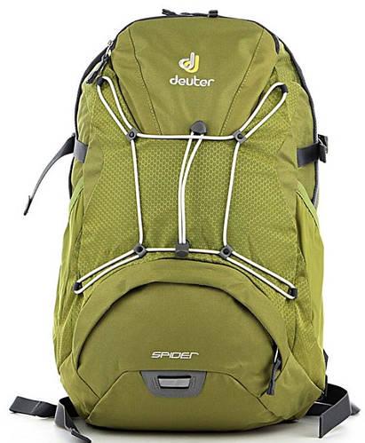 Мужской удобный спортивный рюкзак DEUTER Spider 80112 2060 зеленый