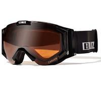 Горнолыжная маска Bliz Carver SR 9 Black / Orange Silver Mirror