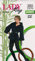 Колготки женские теплые бамбук Lady May Bamboo 350 Den, р 2,3,4