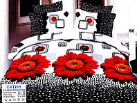 Двуспальный комплект постельного белья 100%-сатин