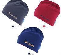 Зимние двусторонние шапки Columbia. Теплая шапка. Купить шапку унисекс. Интернет магазин. Оригинал. Код: КЕ258