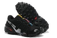 Кроссовки мужские беговые Salomon Speedcross (саломон, оригинал) черные