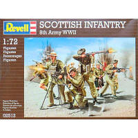Сборная модель Revell Шотландская пехота Scottish Infantry 8th Army WWII 1:72 (2512)
