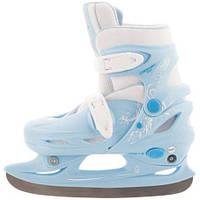 Ледовые коньки раздвижные детские Nordway Click-Girl