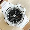 Многофункциональные наручные спортивные часы G-Shock Chronograph White/Black 658