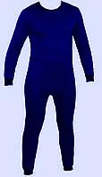 Термобелье зимнее мужское синее размер XXL