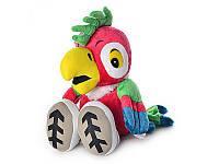 Мягкая игрушка попугай Кеша MP 0383 музыкальный
