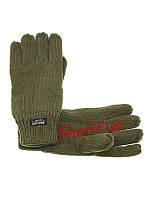 Перчатки  зимние вязаные Thinsulate MIL-TEC Olive