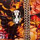 Яркий женский кожаный клатч   с принтом ETERNO, ET336951-6, фото 6