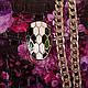 Яркий  женский кожаный клатч  с принтом ETERNO, ET336951-3, фото 6