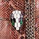 Стильный  женский кожаный клатч  с принтом ETERNO, ET336951-5, фото 6