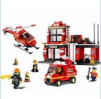 Конструктор Пожарные спасатели 0225 (371 деталь)